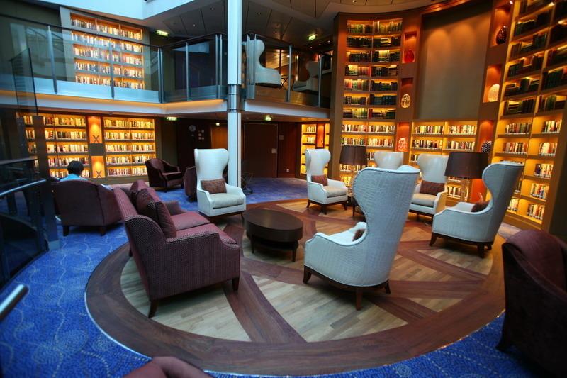 Круизный лайнер Celebrity Silhouette - Библиотека (Library)