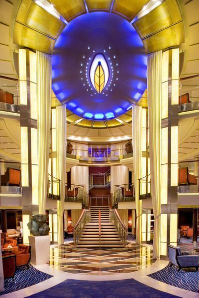 Круизный лайнер Celebrity Solstice - Атриум (Atrium)