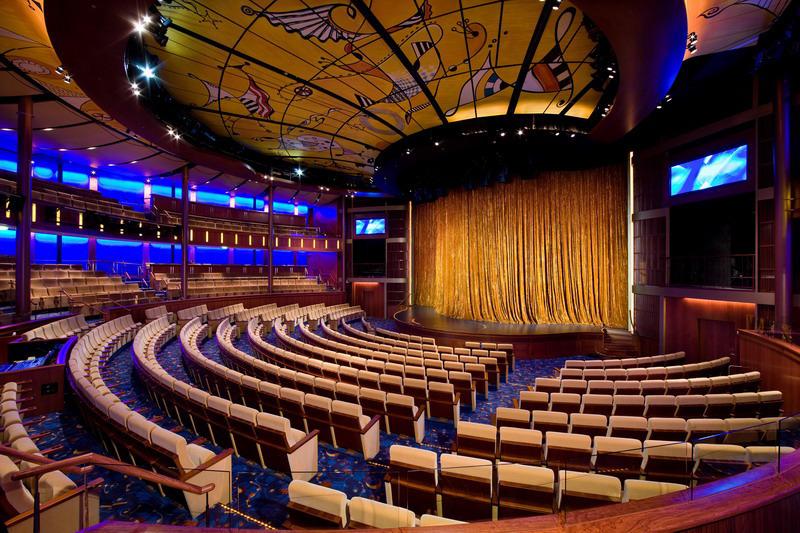 Круизный лайнер Celebrity Solstice - Театр (Solstice Theater)