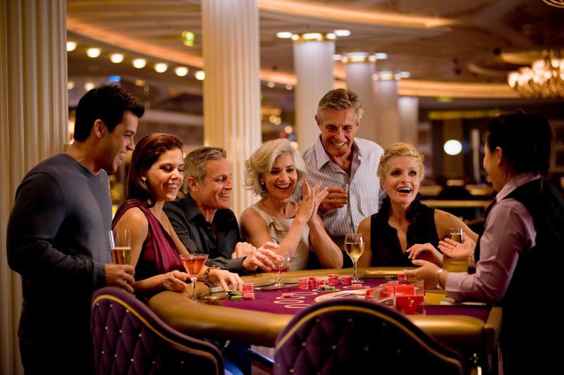 Круизный лайнер Celebrity Solstice - Казино (Casino)
