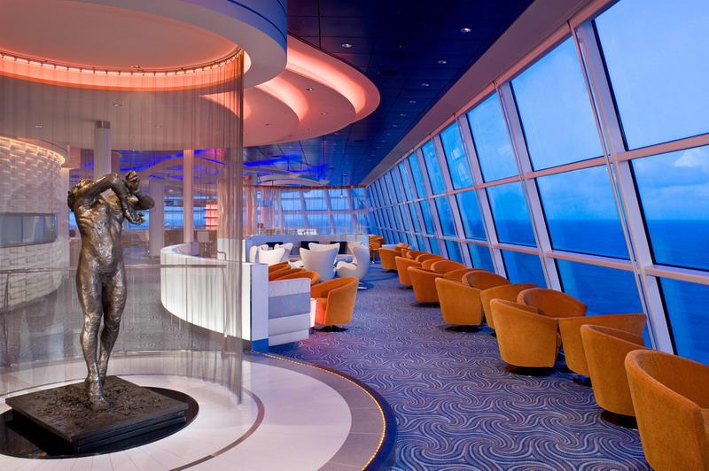 Круизный лайнер Celebrity Solstice - Зона отдыха (Sky Lounge)