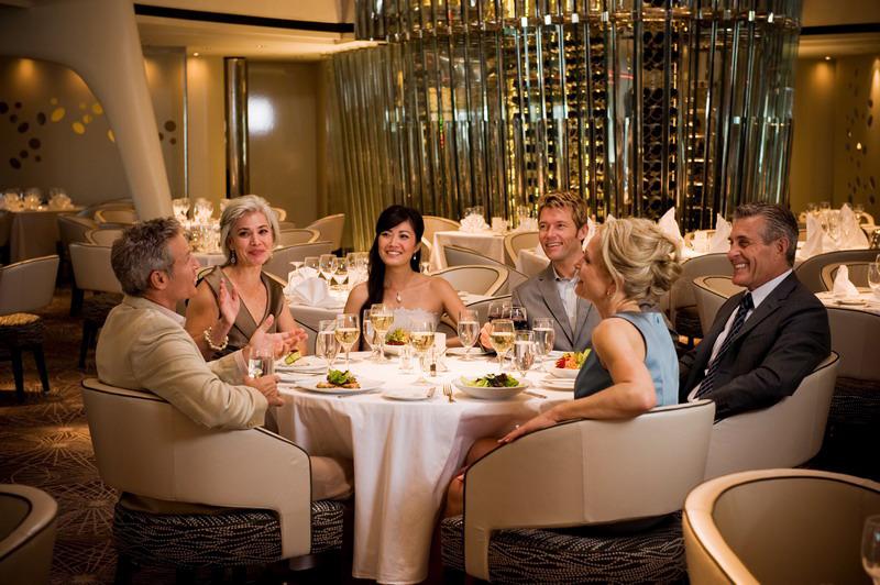 Круизный лайнер Celebrity Solstice - Основной ресторан (Dining Room)