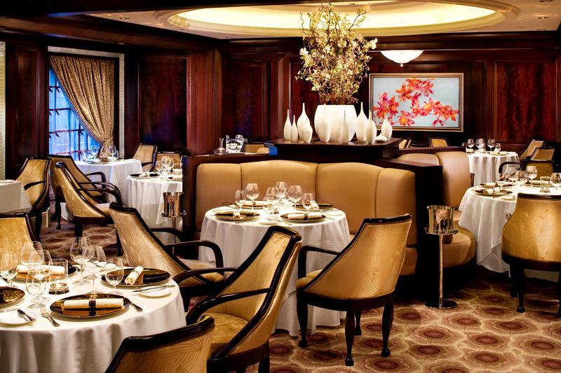 Круизный лайнер Celebrity Solstice - Ресторан Murano (Murano)