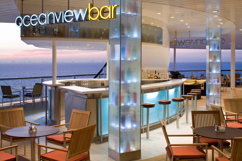 Круизный лайнер Celebrity Solstice - Бар Oceanview (Oceanview Bar)