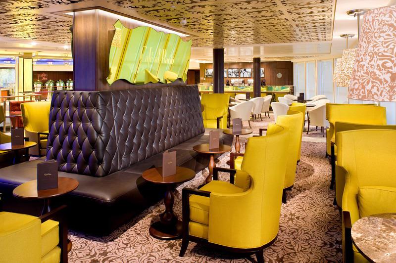 Круизный лайнер Celebrity Solstice - Кафе AlBacio (Cafe AlBacio)