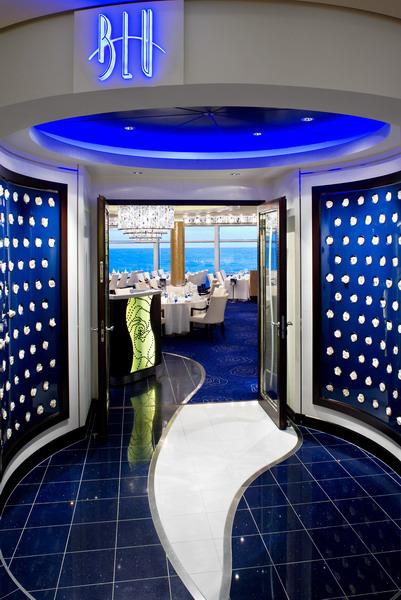 Круизный лайнер Celebrity Solstice - Ресторан Blu (Blu)