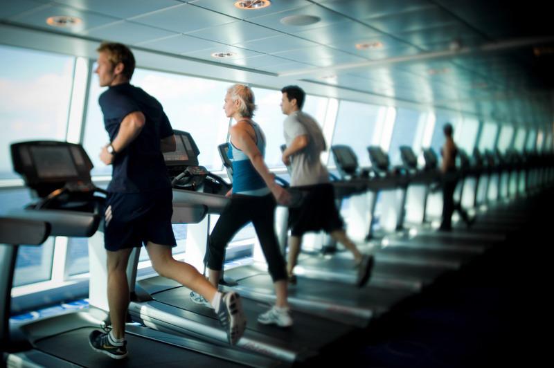 Круизный лайнер Celebrity Solstice - Тренажерный зал (Gym)