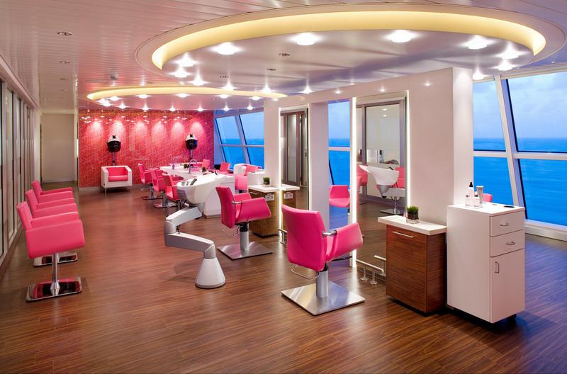 Круизный лайнер Celebrity Solstice - Центр спа (Salon)