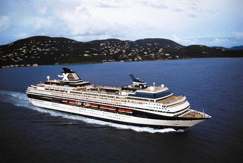 Круизный лайнер Celebrity Summit - Внешний вид лайнера (Exterior)