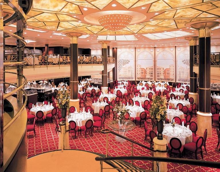 Круизный лайнер Celebrity Summit - Основной ресторан (San Marco)