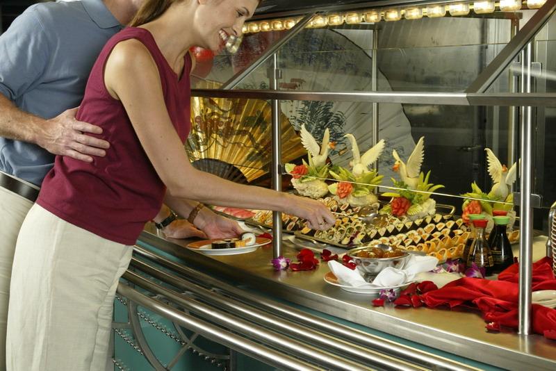 Круизный лайнер Celebrity Summit - Суши бар (Sushi)