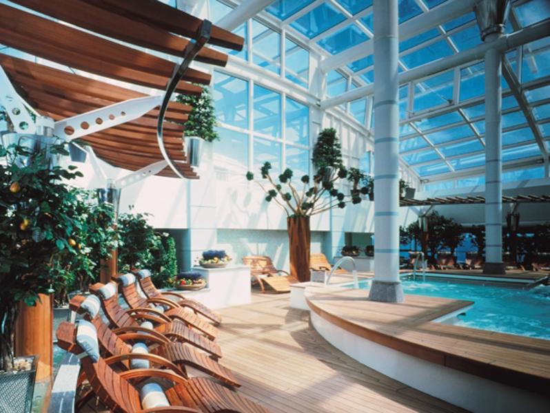 Круизный лайнер Celebrity Summit - Центр спа (Aqua Spa)