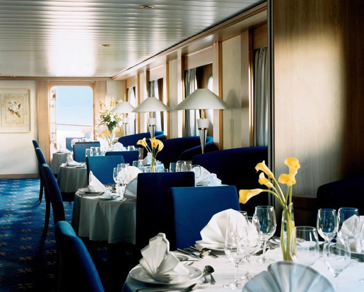 Круизный лайнер Celebrity Xpedition - Основной ресторан (Dining Room)