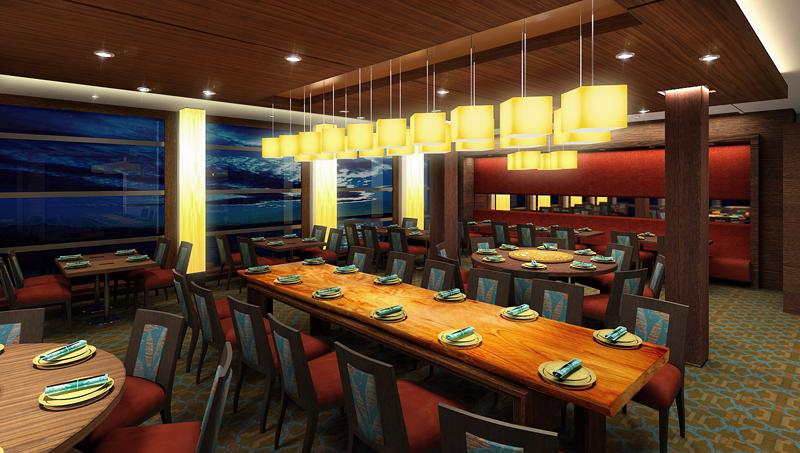 Круизный лайнер Celebrity Xpedition - Ресторан Harvest (Harvest Restaurant)