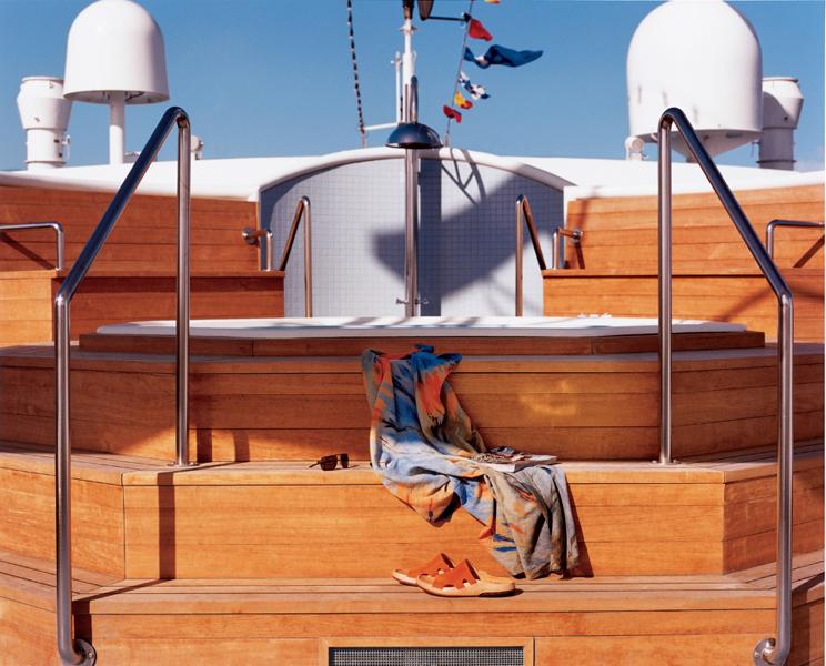 Круизный лайнер Celebrity Xpedition - Горячая кадка (Hot Tub)