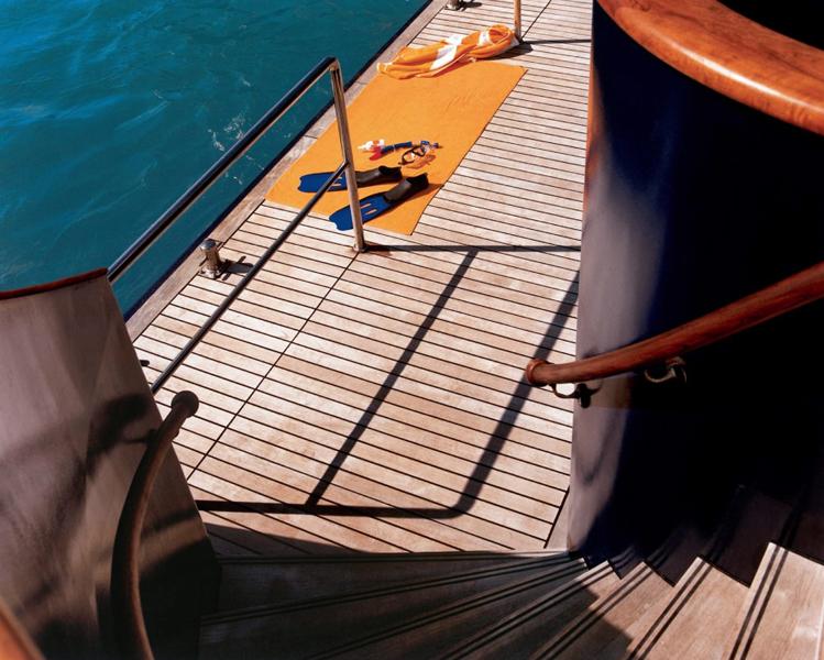 Круизный лайнер Celebrity Xpedition - Основная зона купания (Gang Plank)