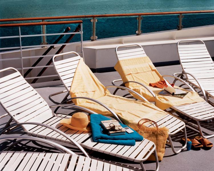 Круизный лайнер Celebrity Xpedition - Соляриум (Lounge Chairs)