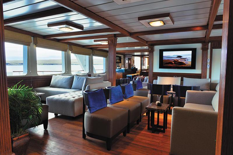 Круизный лайнер Celebrity Xperience - Салон отдыха