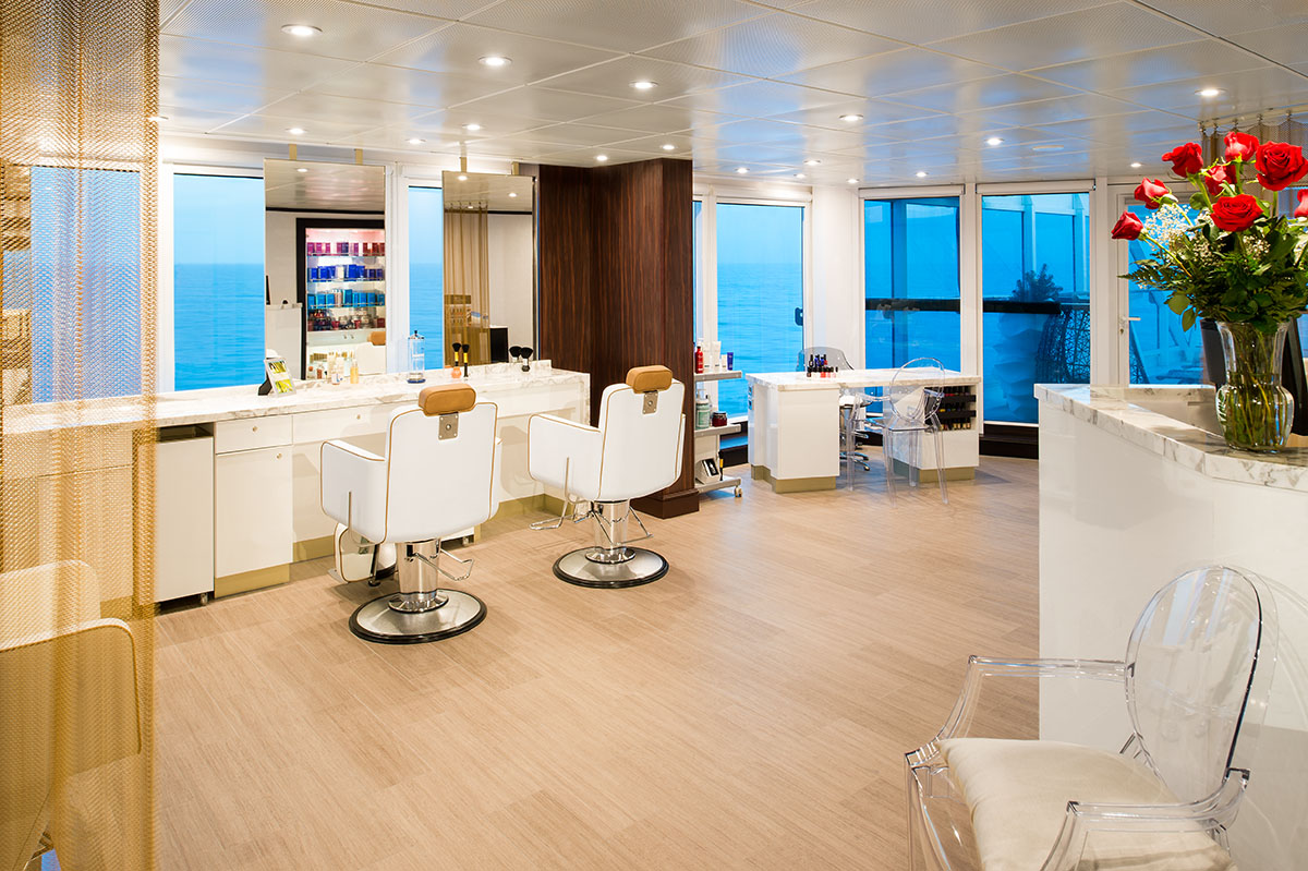 Круизный лайнер Azamara Journey - Салон Красоты (Beauty Salon)
