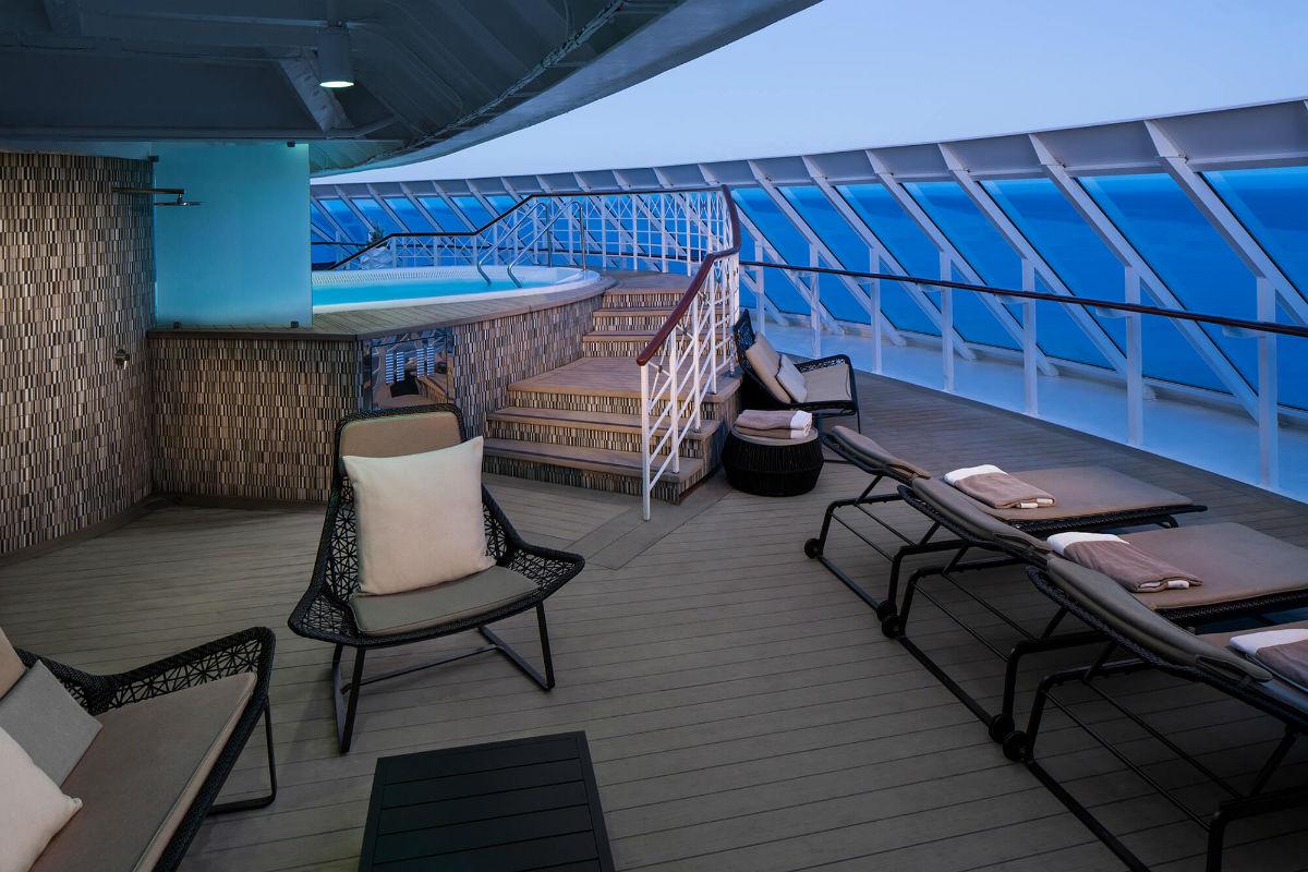 Круизный лайнер Azamara Journey - Джакузи (Spa Pool)