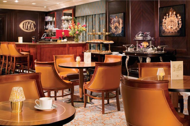 Круизный лайнер Azamara Journey - Кафе (Cova Cafe)