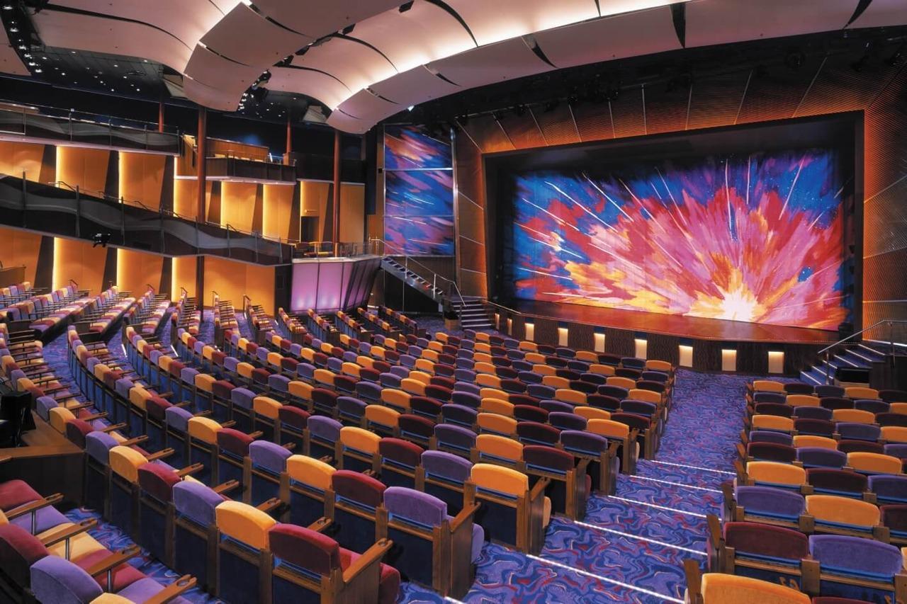 Круизный лайнер Brilliance of the Seas - Театр (Theater)