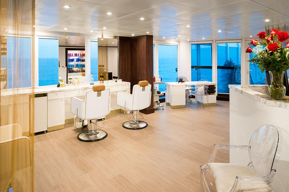 Круизный лайнер Azamara Quest - Салон Красоты (Beauty Salon)