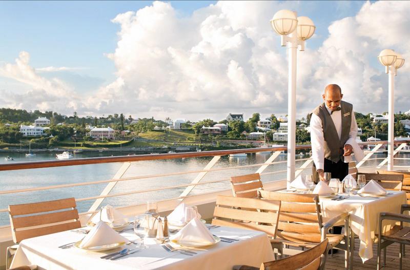 Круизный лайнер Azamara Quest - Ресторан на открытой палубе (Breeza)