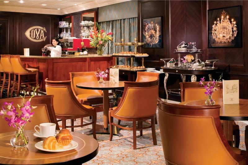 Круизный лайнер Azamara Quest - Кафе (Cova Cafe)