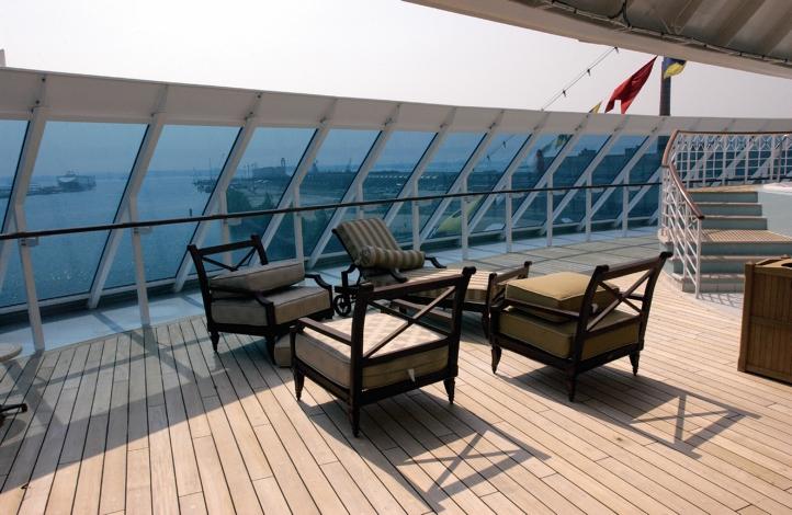 Круизный лайнер Azamara Quest - Зона отдыха (Relaxation Area)