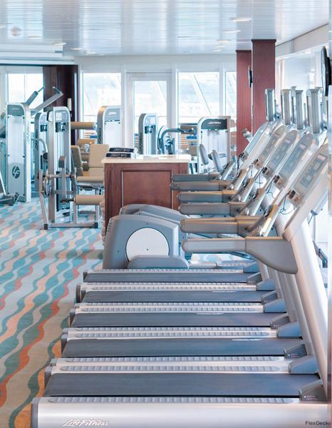 Круизный лайнер Azamara Quest - Тренажерный зал (Fitness Center)
