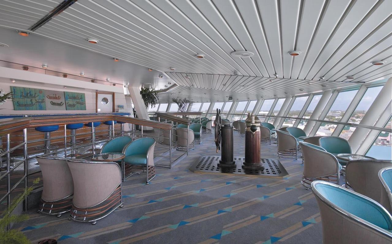 Круизный лайнер Empress of the Seas - Лаунж Viking Crown Lounge