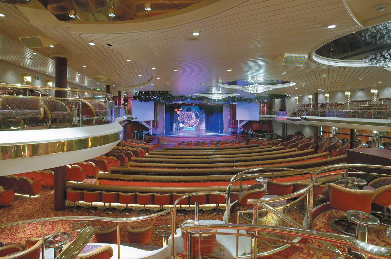 Круизный лайнер Empress of the Seas - Главный театр лайнера