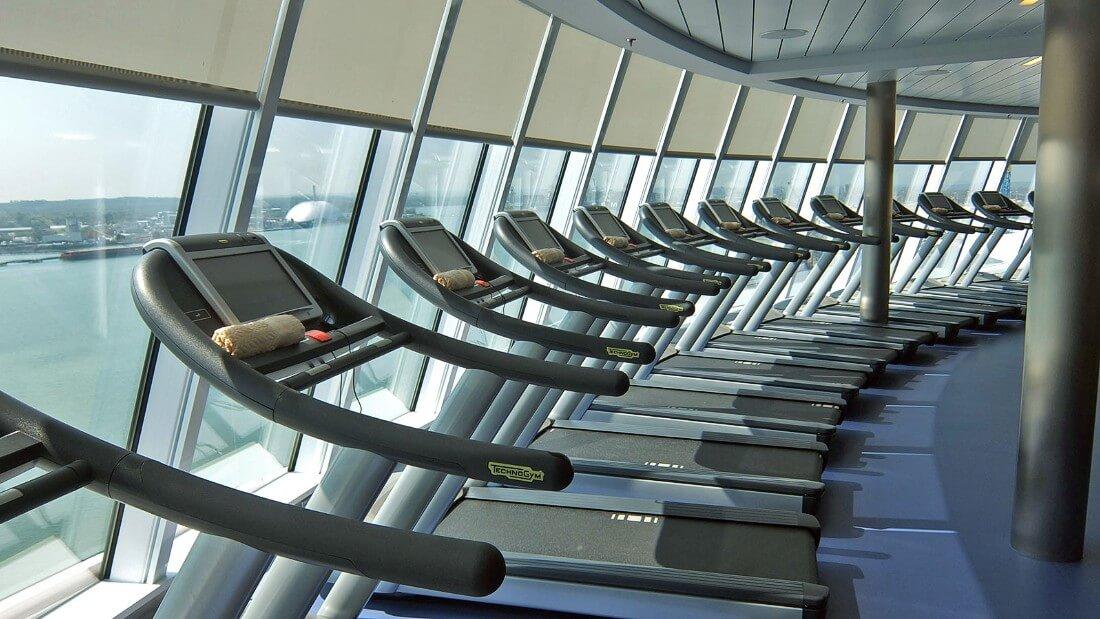 Круизный лайнер Empress of the Seas - Фитнес-центр