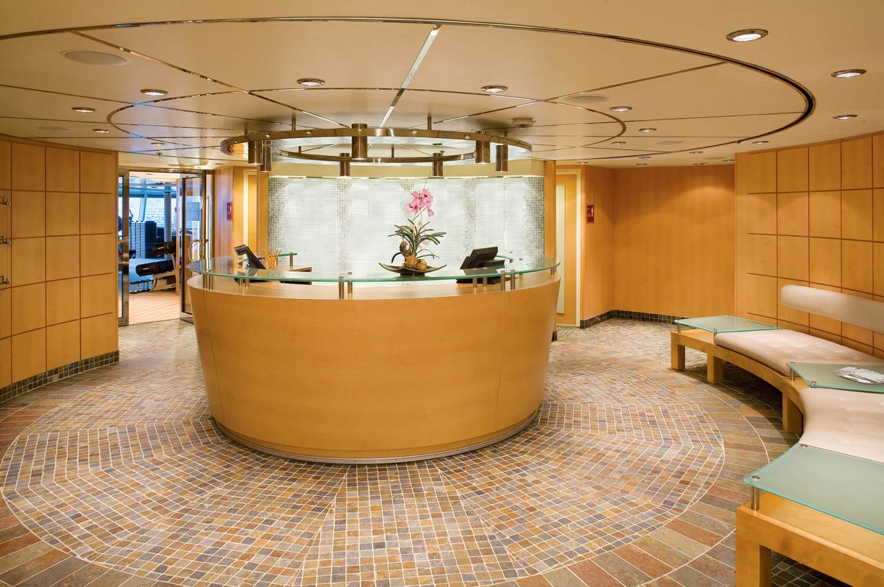 Круизный лайнер Empress of the Seas - Спа-салон