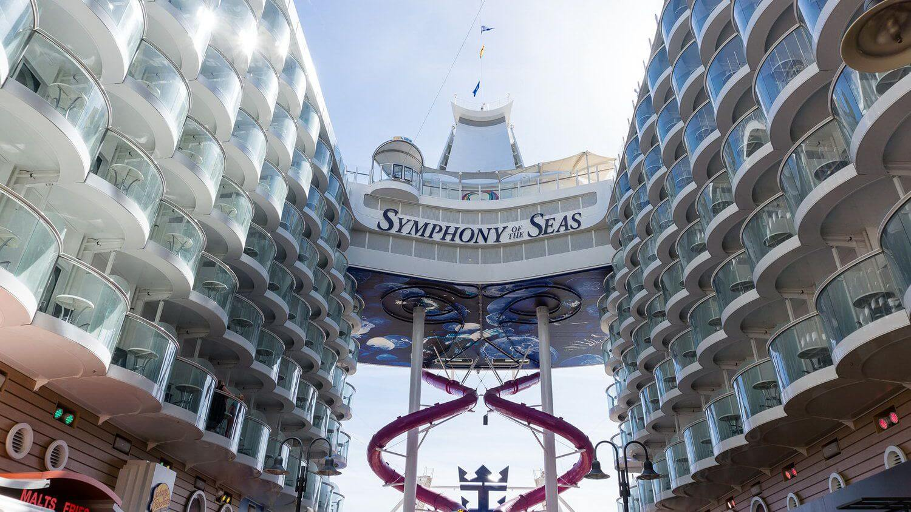 Круизный лайнер Symphony of the Seas - Symphony of the Seas