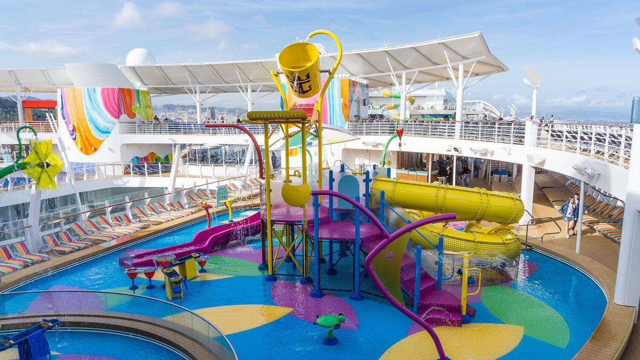 Круизный лайнер Symphony of the Seas - Аквапарк для детей