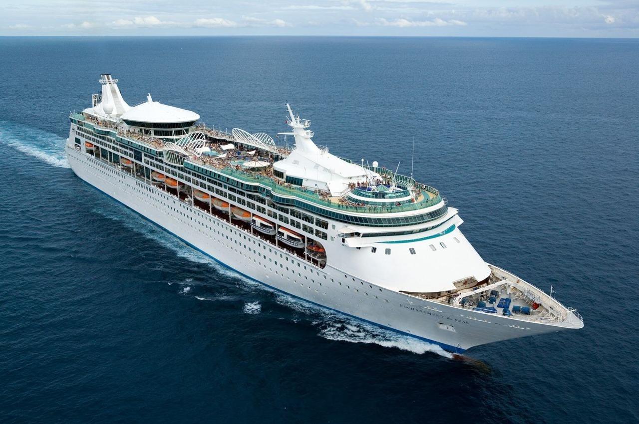 Круизный лайнер Enchantment of the Seas - Внешний вид лайнера (Exterior)