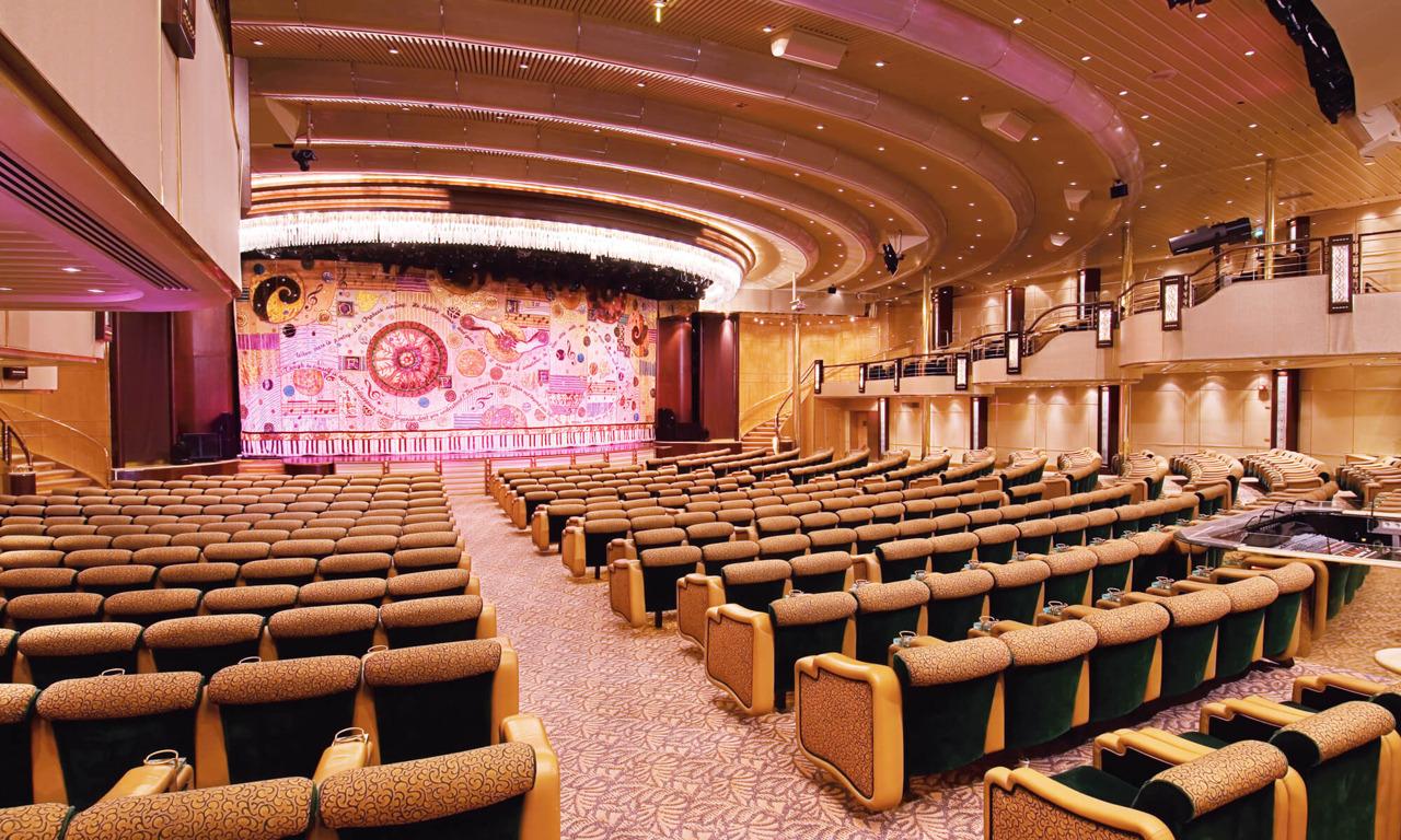 Круизный лайнер Enchantment of the Seas - Театр (Theater)