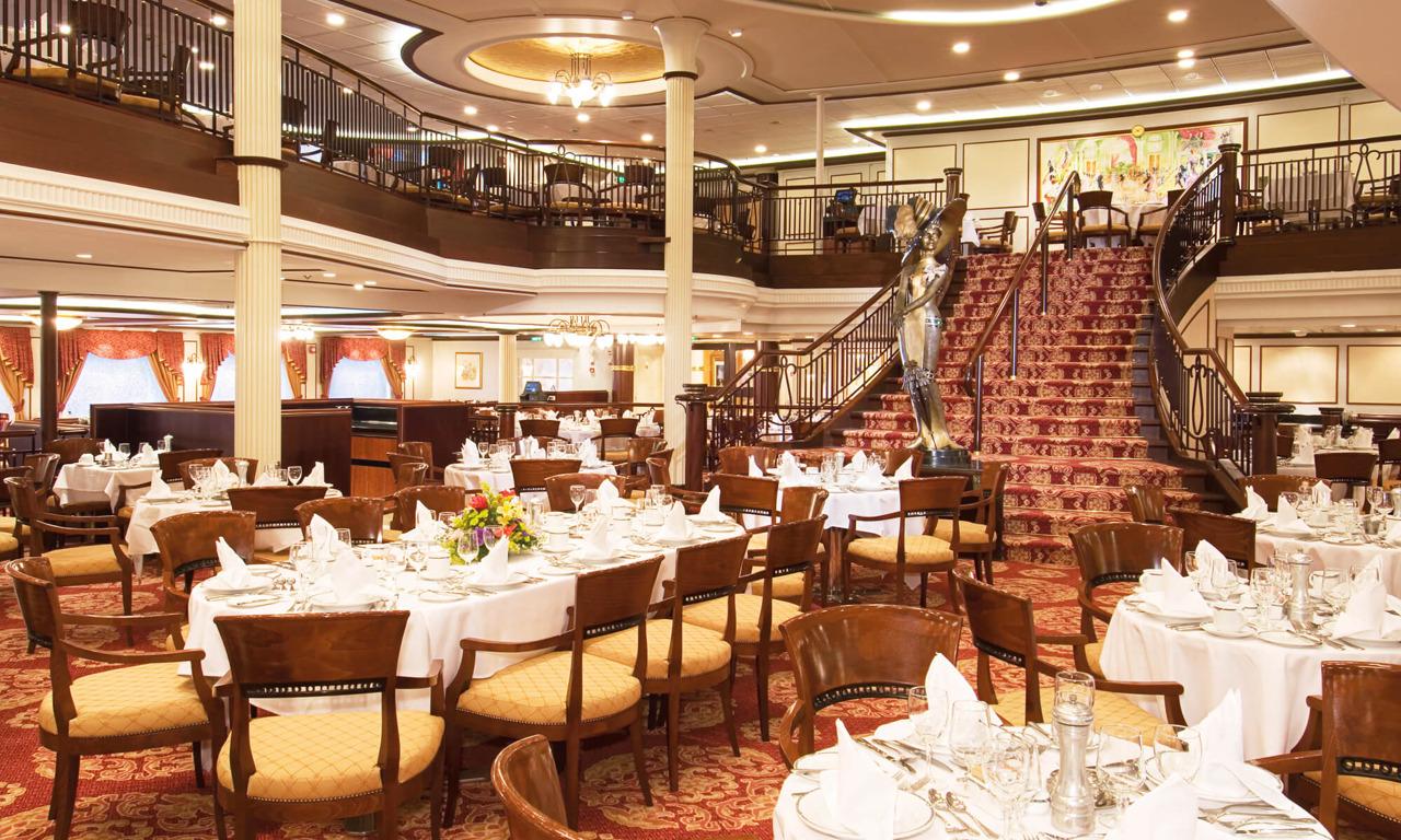 Круизный лайнер Enchantment of the Seas - Основной ресторан (Dining Room)