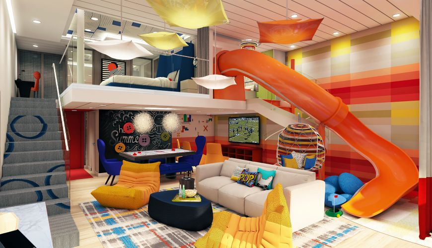 Круизный лайнер Spectrum of the Seas - Ultimate Family Suite