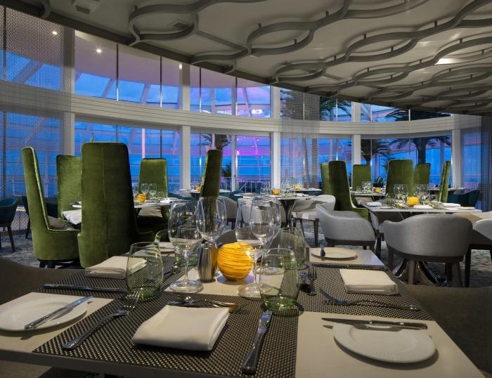 Круизный лайнер Spectrum of the Seas - Silver Dining