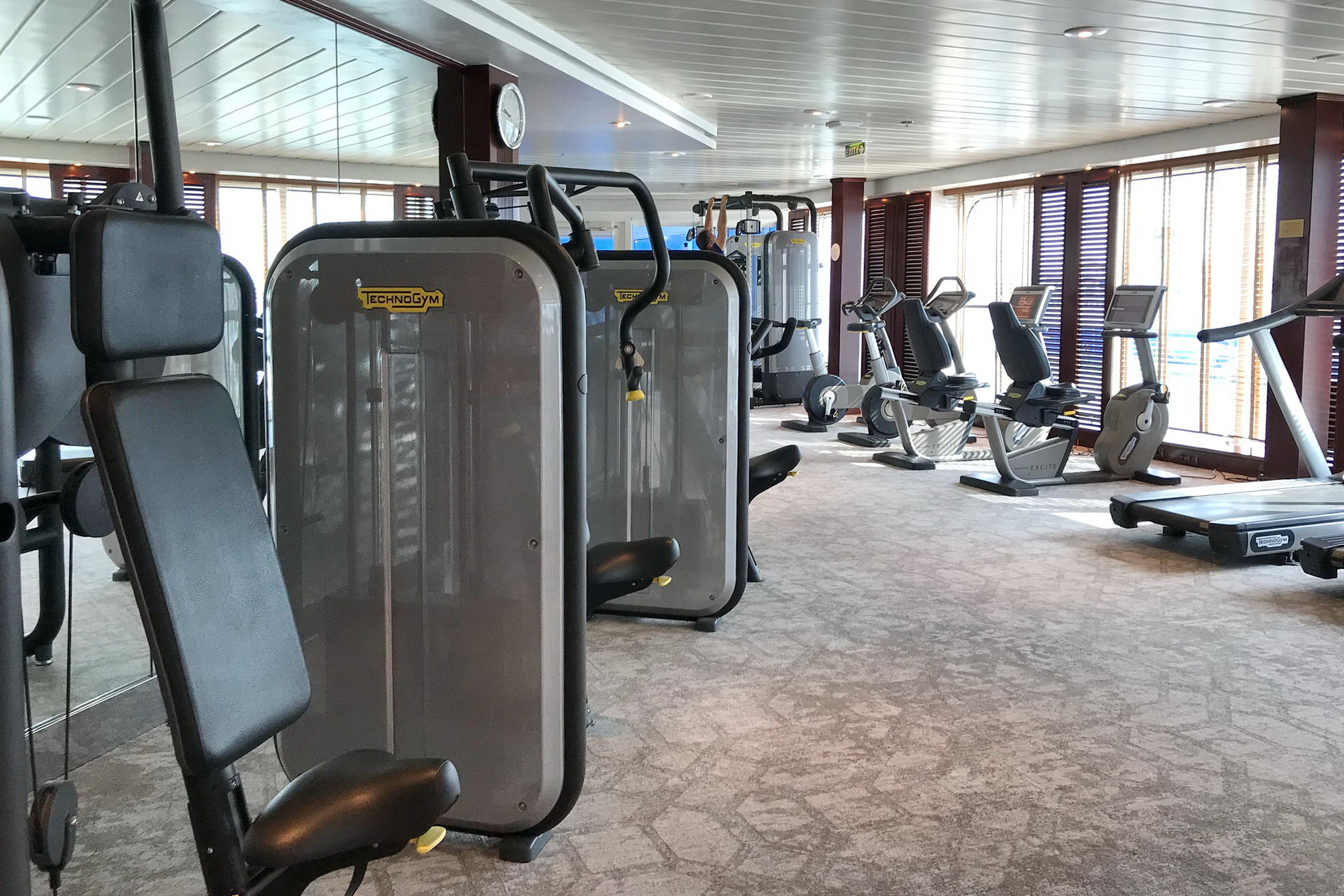 Круизный лайнер Azamara Pursuit - Gym