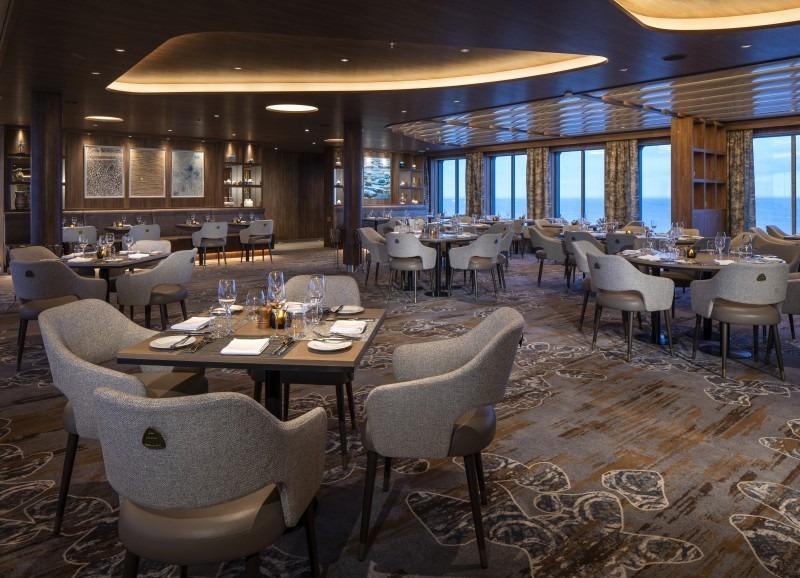 Круизный лайнер Celebrity Flora - Seaside Restaurant