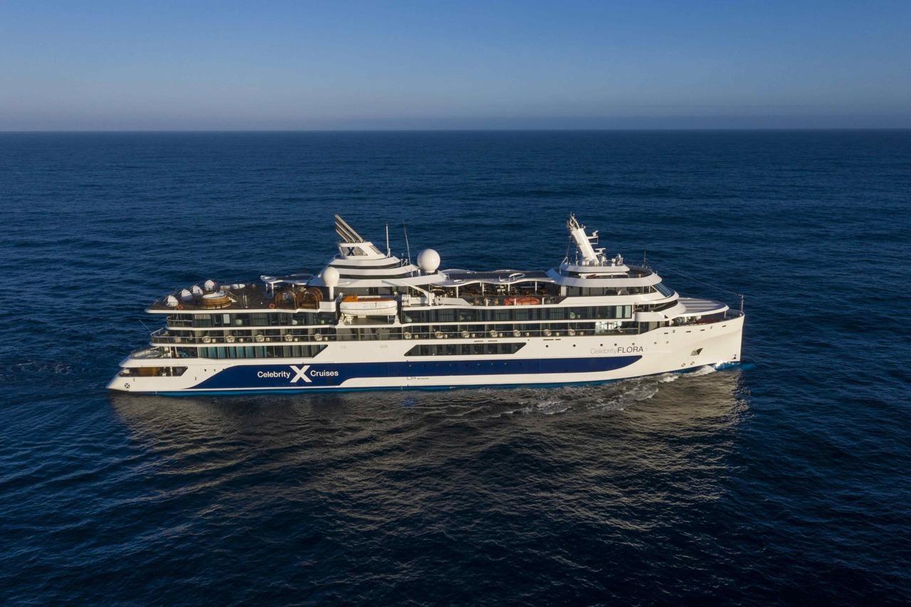 Круизный лайнер Celebrity Flora - DJI_0247-1
