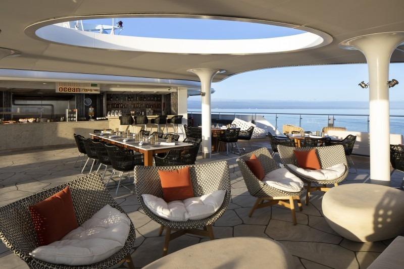 Круизный лайнер Celebrity Flora - Ocean Grill
