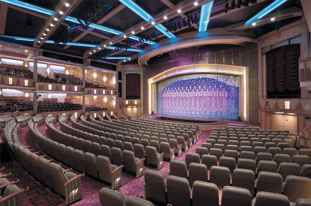 Круизный лайнер Explorer of the Seas - Театр (PalaceTheater)