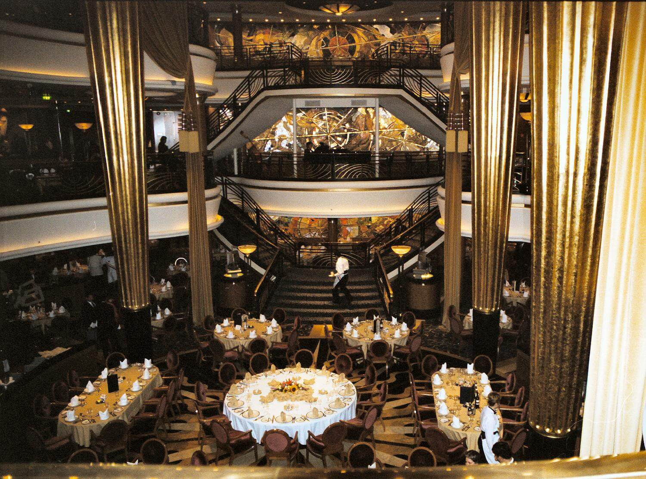 Круизный лайнер Explorer of the Seas - Основной ресторан (Dining Room)