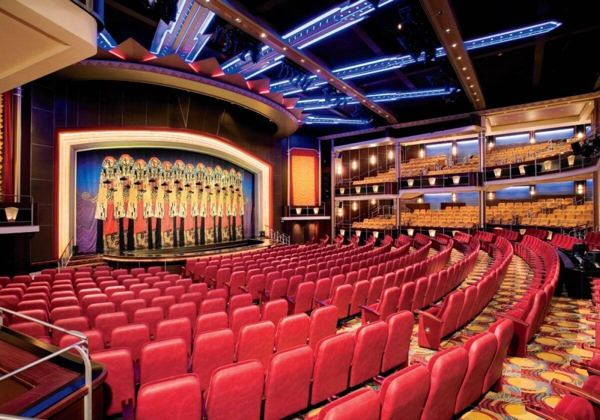 Круизный лайнер Freedom of the Seas - Аркадия-театр (ArcadiaTheater)