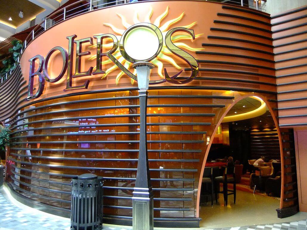Круизный лайнер Freedom of the Seas - Клуб (Boleros)